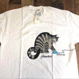 Crazy Shirts Hawaii B Kliban Cat Computer Mouse